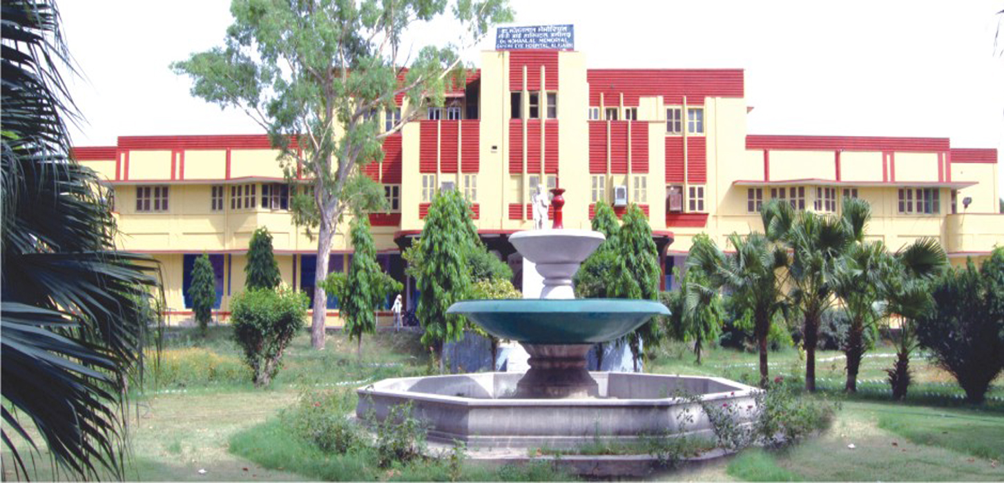 School Of Optometry & Orthoptics, Gandhi Eye Hospital, Aligarh